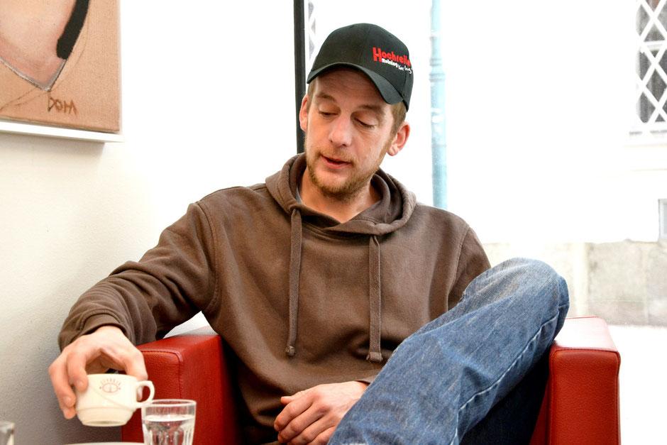 Reining-Trainer Reinhard Hochreiter im Interview. Foto: Maria Appenzeller