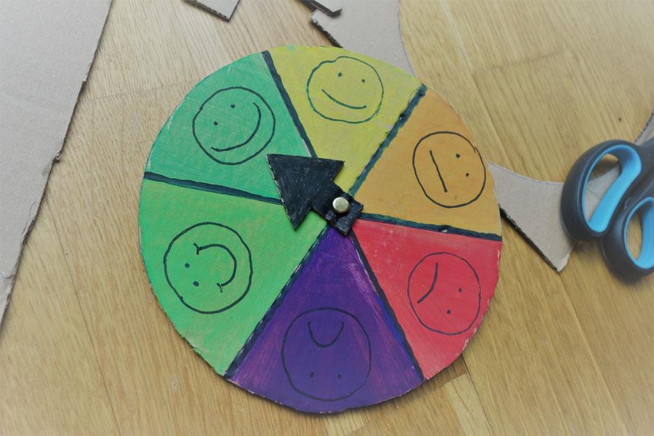 Uhr Gefühle Stimmung Emotionen Smiley basteln