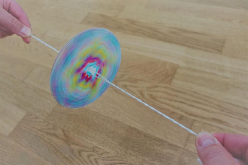 Kreisel Muster Farben Spinner Drehen