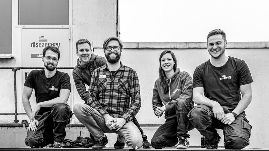 Das Discarvery Team - Wir bauen deinen Camper