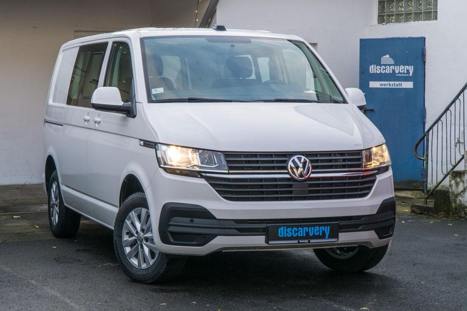 Der neue VW T6.1 Facelift Transporter ist das Basisfahrzeug für unsere zukünftigen Campervans