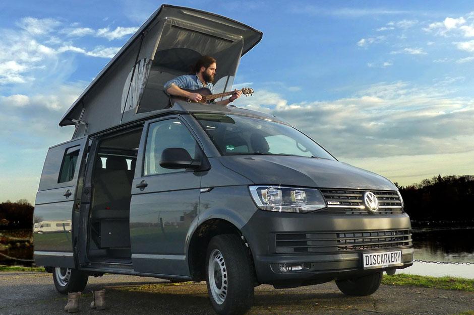 Discarvery VW T6 Camper mit Aufstelldach SCA 194 und Open View
