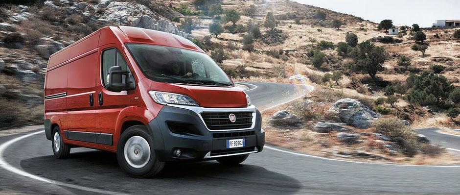Fiat Ducato - Transporter einen neuen Generation