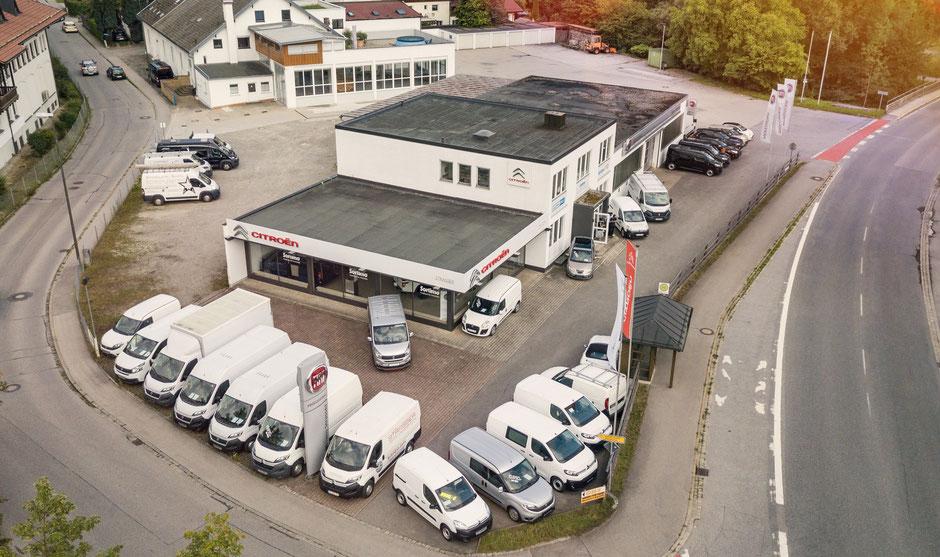 Partner für Transporter und Nutzfahrzeuge von Fiat und Citroen.