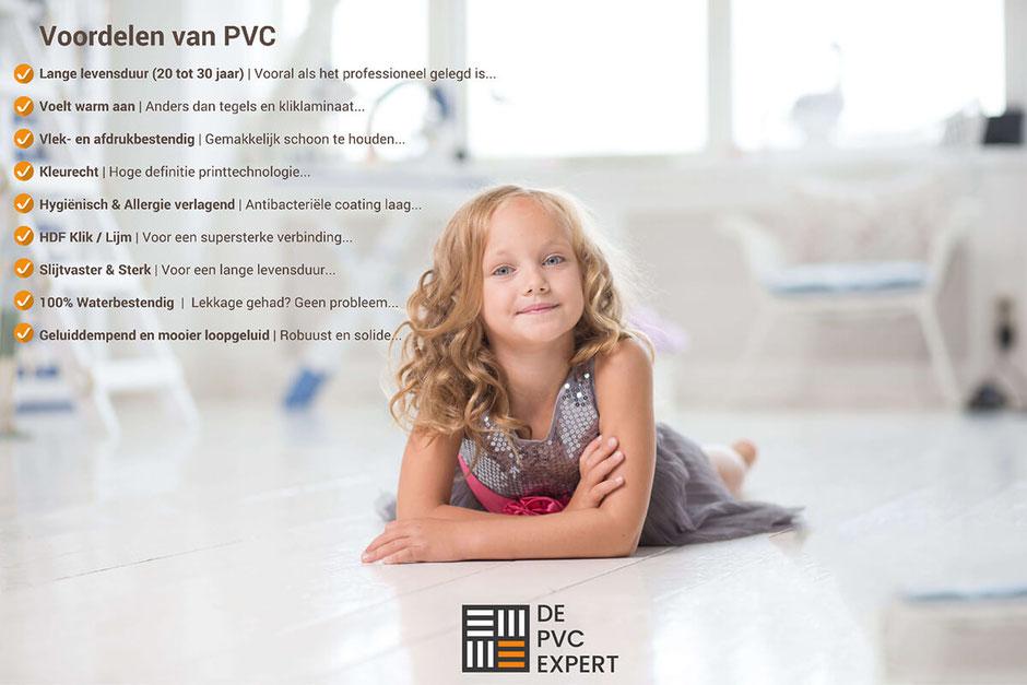 Alle voordelen van PVC vloeren op een rijtje