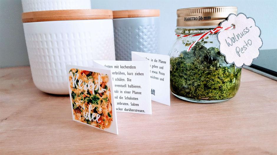 Geschenk aus der Küche - Pasta & Pesto