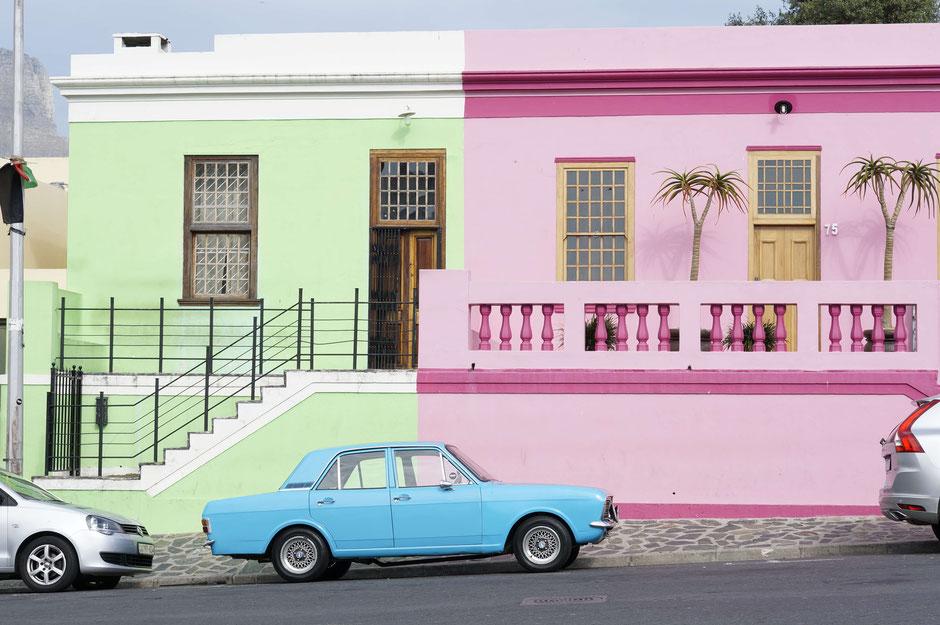 Bo-Kaap -Stadtviertel - Kapstadt - Südafrika