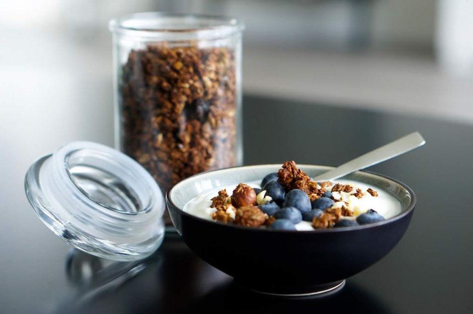 Gesundes  Kokos-Nuss-Müsli | natürlich gesüßt & clean