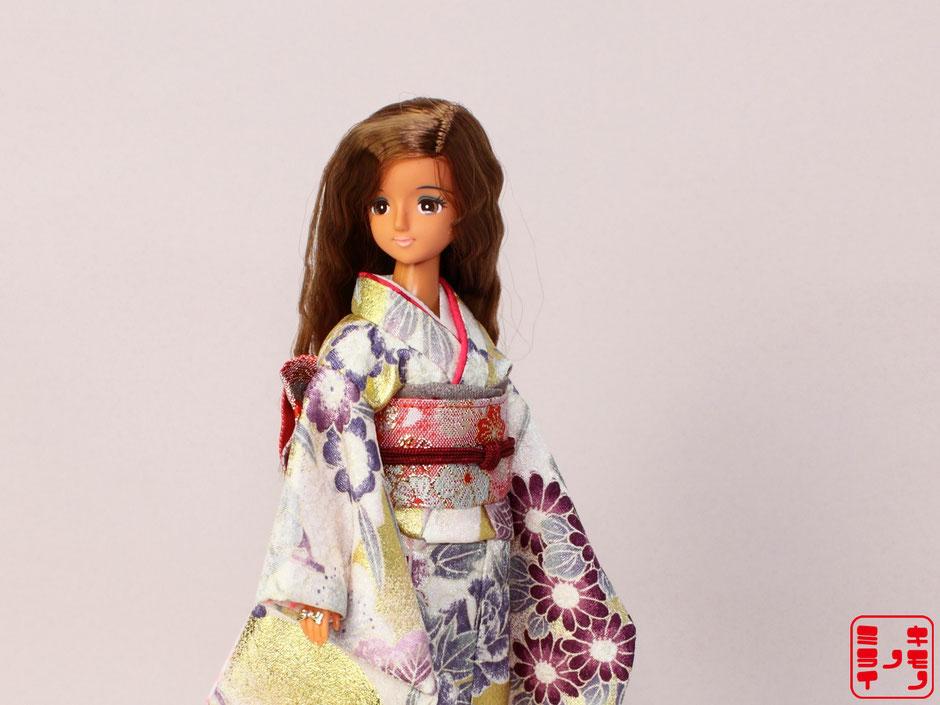 ジェニー 着物,momoko 振袖,プーリップ 和服,Pullip kimono,Jenny furisode