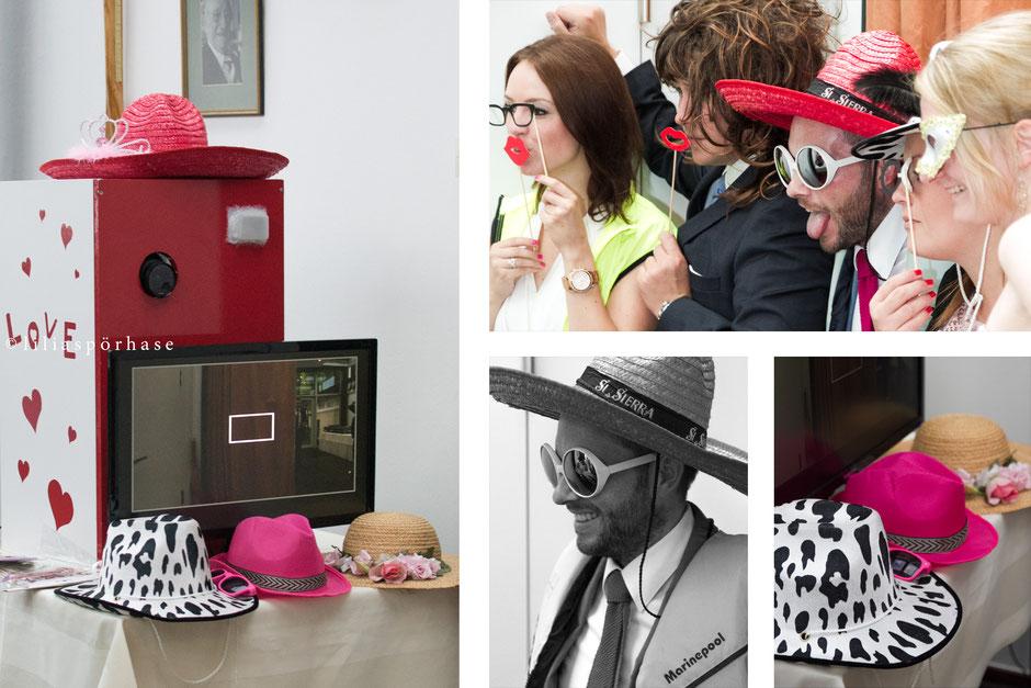 photo booth, Fotobox, Hochzeit, liliaspoerhase, Lilia Spörhase, Fotografie, Hamburg,