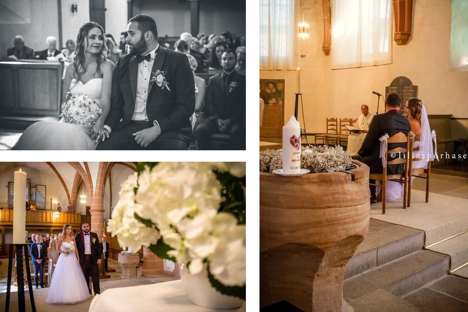 Evangelische Kirche Waldeck, Bad Wildungen, Ev. Kirchengemeinde Waldeck, Hochzeit, Lilia Spörhase, Brautpaar