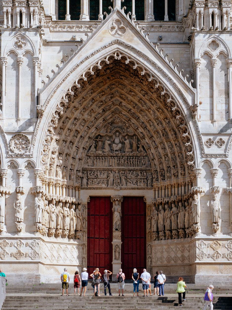 Portal of the Last Judgement, Portail du Jugement dernier, Cathédrale d'Amiens, Amiens Cathedral