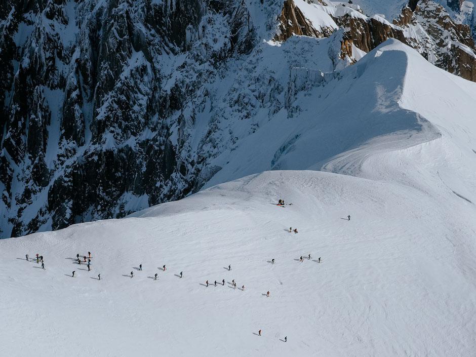 Vallée Blanche (Mer de Glace, Chamonix)