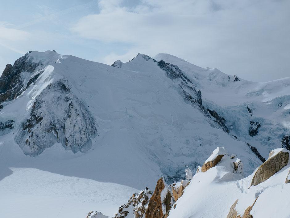Mont-Blanc, Aiguille du Midi, Chamonix (French Alps, Alpes françaises)