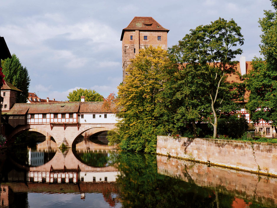 The Hangman's Bridge in Nuremberg