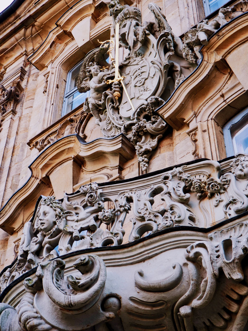Details of the architecture of the city