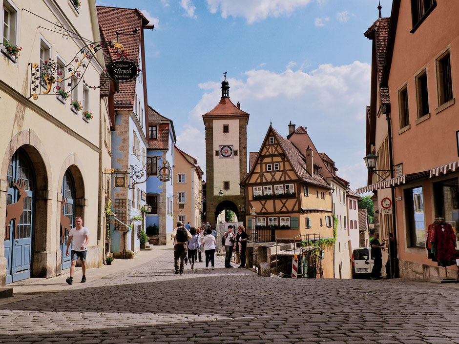 The most picturesque place of Rothenburg!