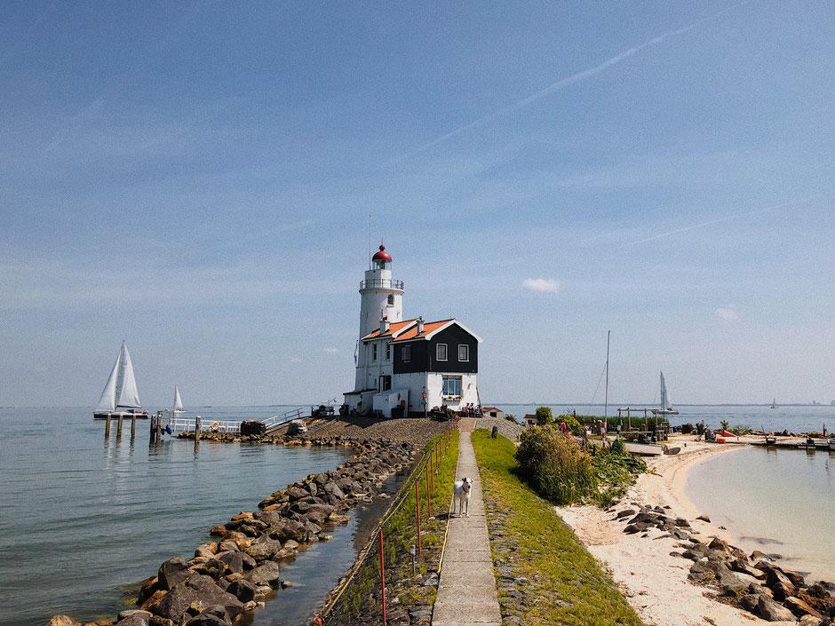 Lighthouse in Marken