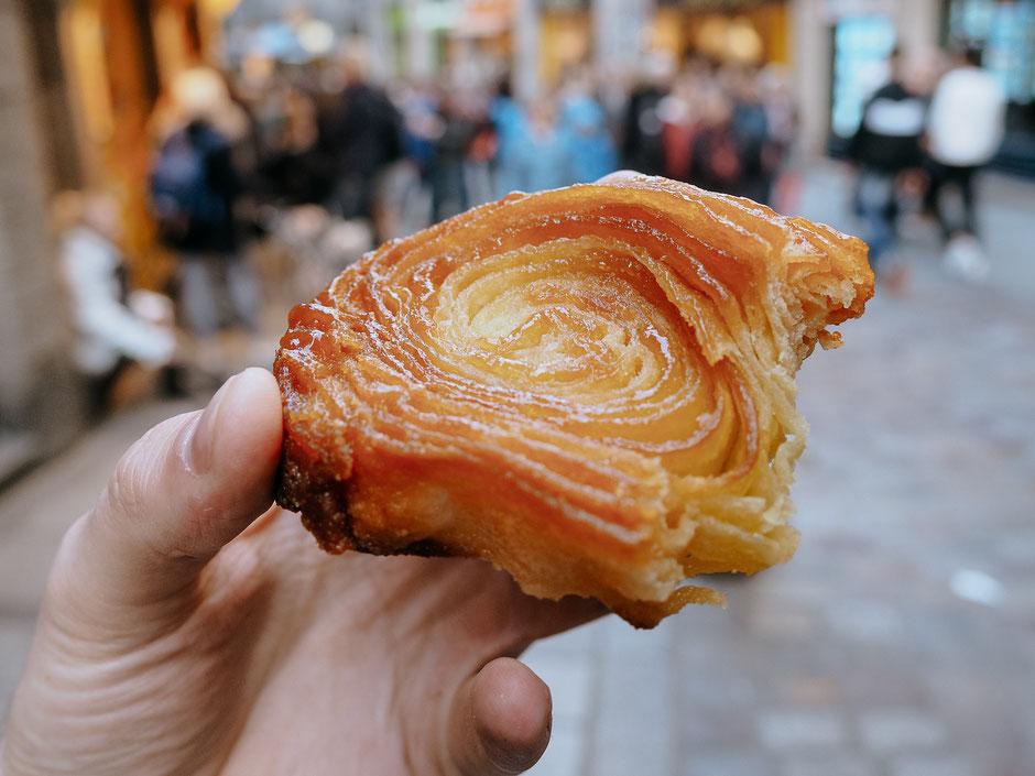 Kouign-Amann, Pastry, Délices du Gouverneur, Old Town, Saint-Malo, Bretagne, Brittany