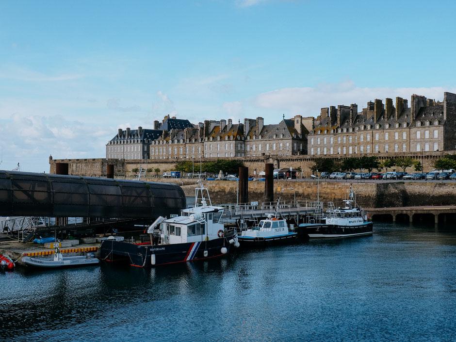 Ramparts, Saint-Malo, Bretagne, Brittany