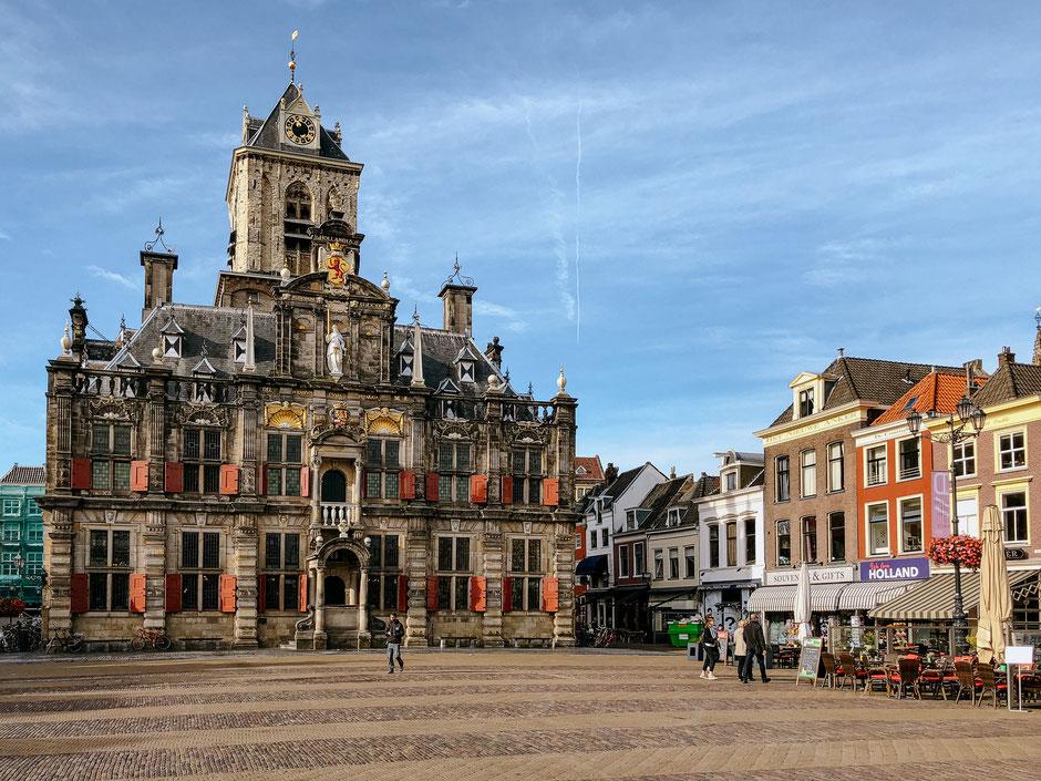 Markt, Town Hall, Delft