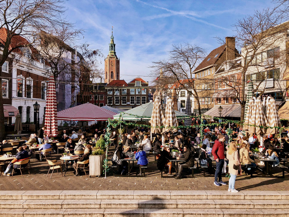 Grote Markt in The Hague