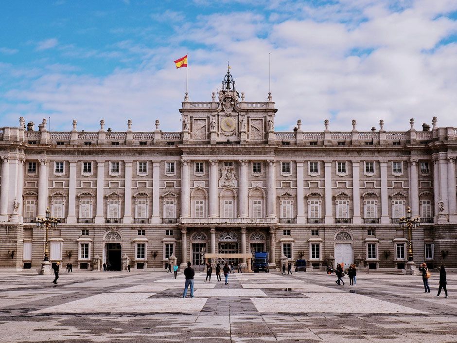The Royal Palace of the Spanish Royal Family!