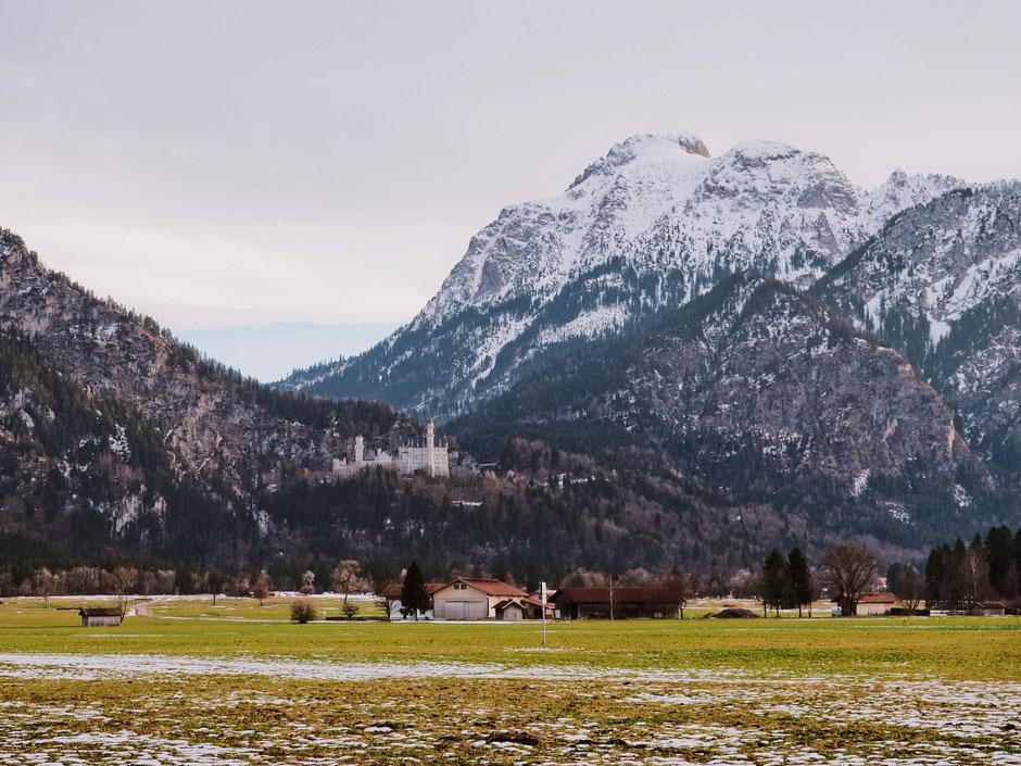 Tegelberg, Neuschwanstein Castle Füssen (Bavaria)
