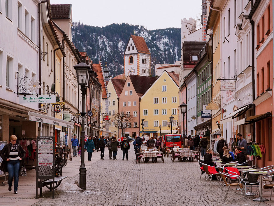 Main Street in beautiful Füssen