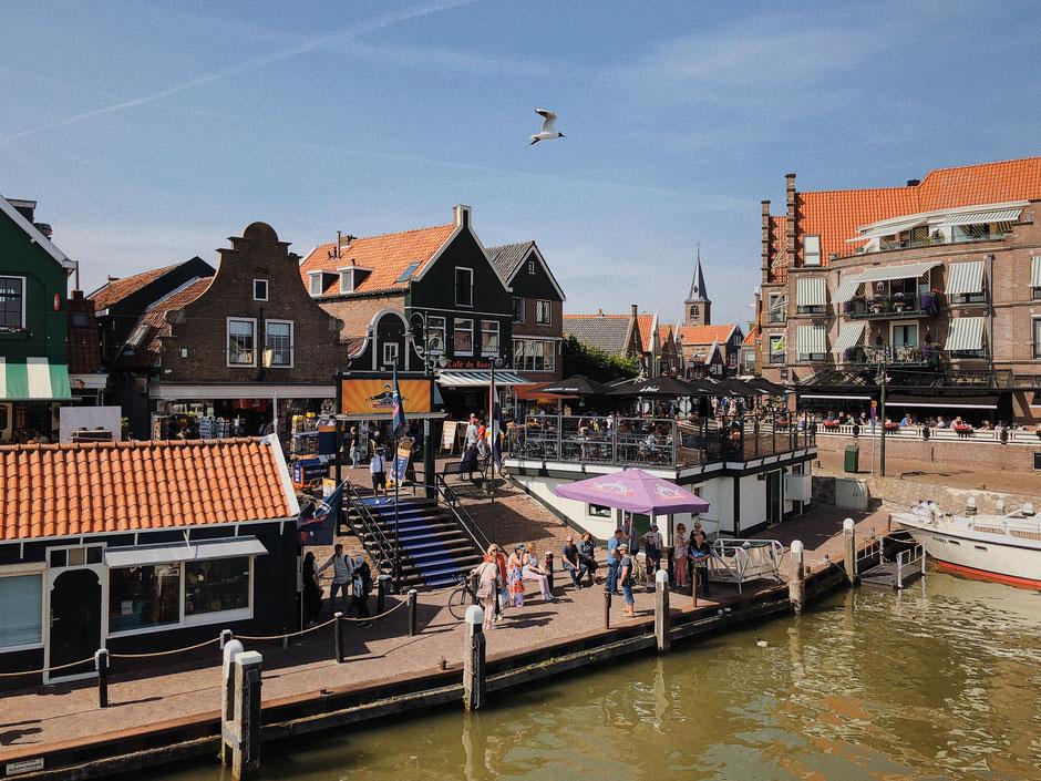 Volendam's Harbour