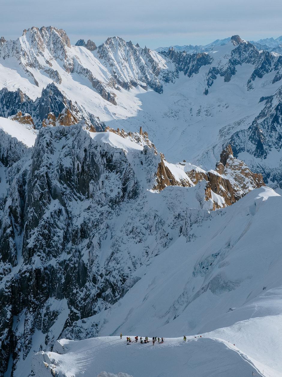 Needle, Aiguille du Midi, Chamonix (French Alps, Alpes françaises)
