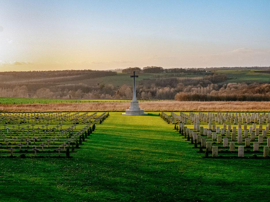 Thiepval Memorial, Thiepval Museum (WWI Somme Battlefields)