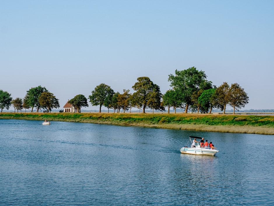 Quai Blavet located at the estuary of the Somme river