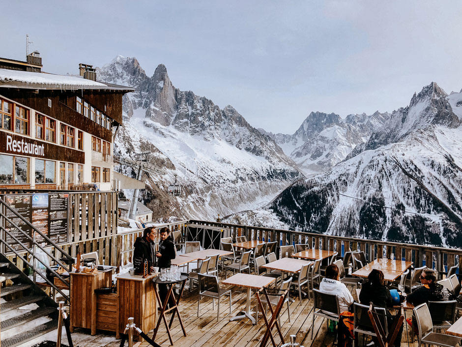 La Flégère, Mont-Blanc Natural Resort in Chamonix (French Alps, Alpes françaises)