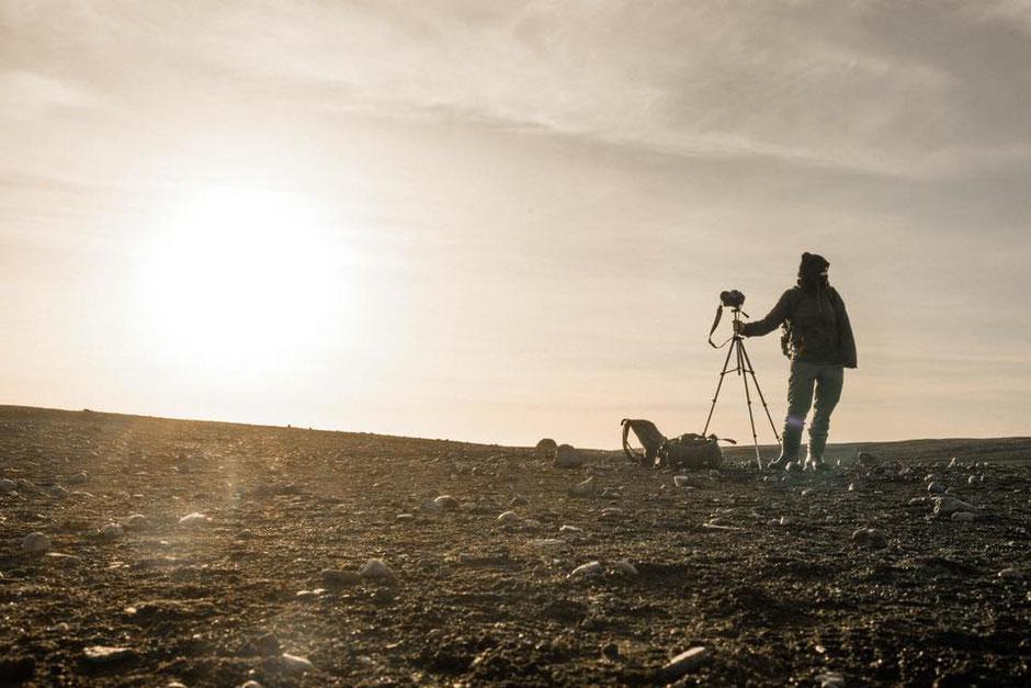 Pixelle par Julien Navarre - Desert de cendre sur un volcan en Islande