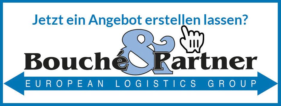 Jetzt ein Angebot für europaweite Express-Transporte (unter 18 h) und Landverkehre bis Sattelzug 40 t von Bouché & Partner GmbH einholen: