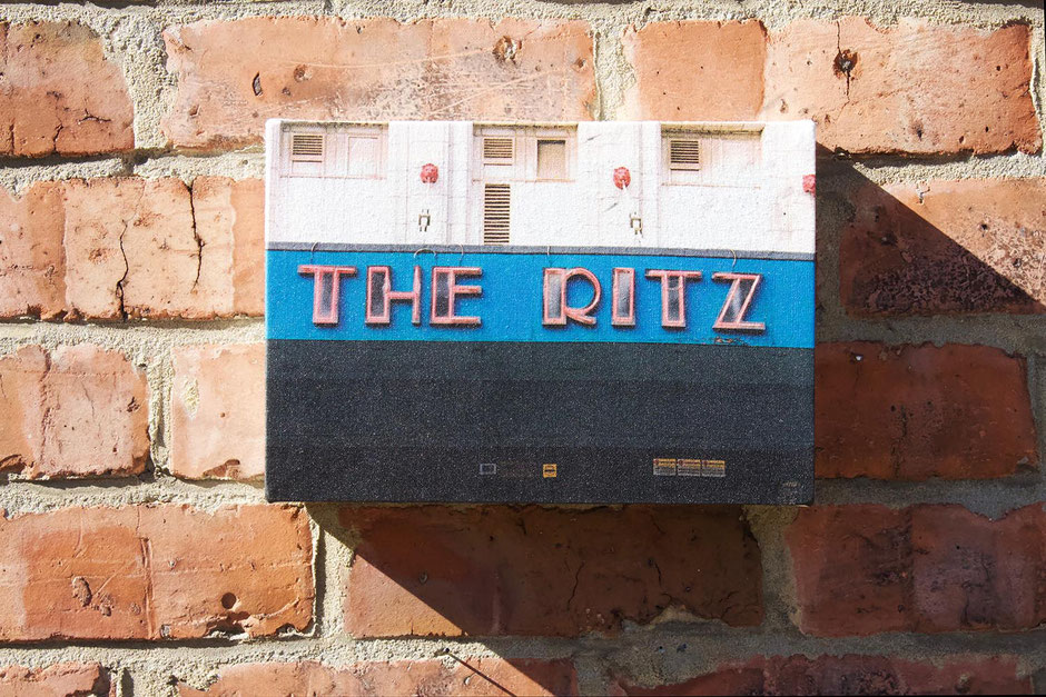 the ritz manchester city iconic nightclub and music venue canvas wall print nostalgic gift for mancunian