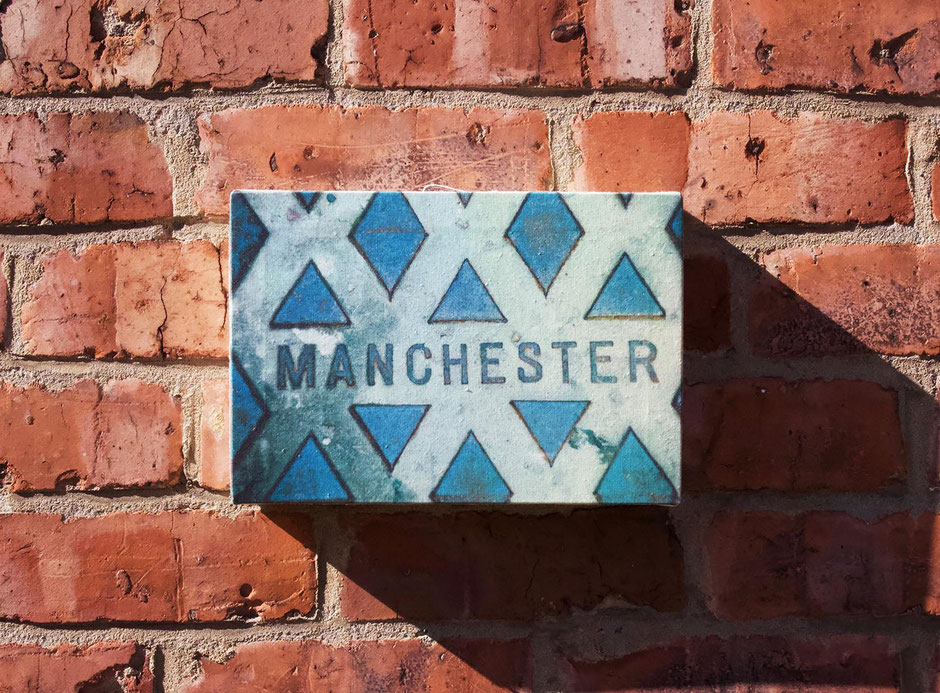manchester small canvas wall print art decor