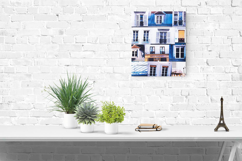 paris photo canvas interior wall decor