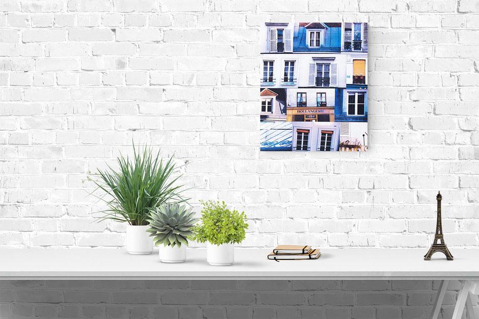 paris photo canvas interior wall decor