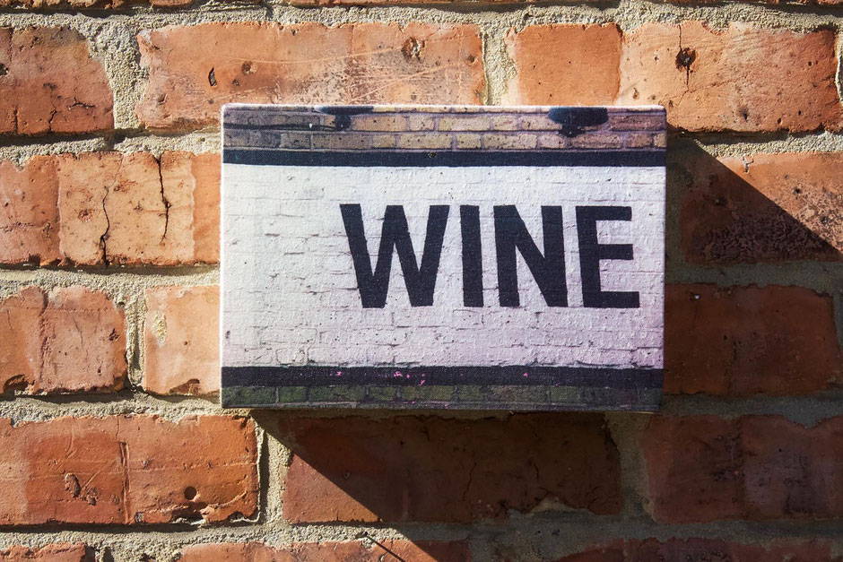 wine sign canvas wall print wall art home decor for the wine lover connoisseur