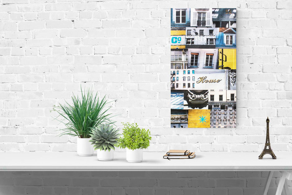 northern house new york paris london manchester canvas photo montage wall art