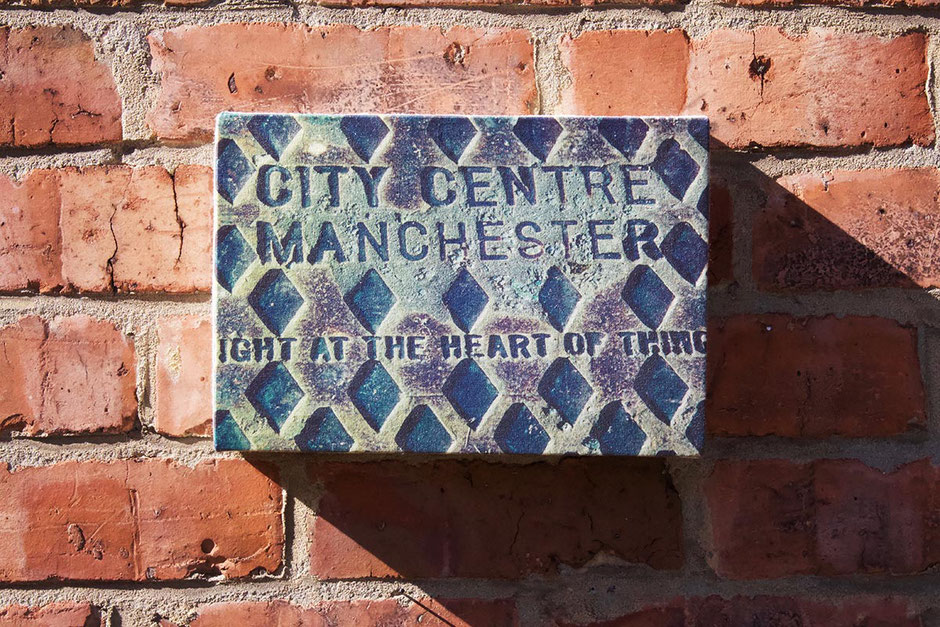 canvas art print wall decor right at the heart of things manchester city centre mancunian sentiment house moving relocating gift