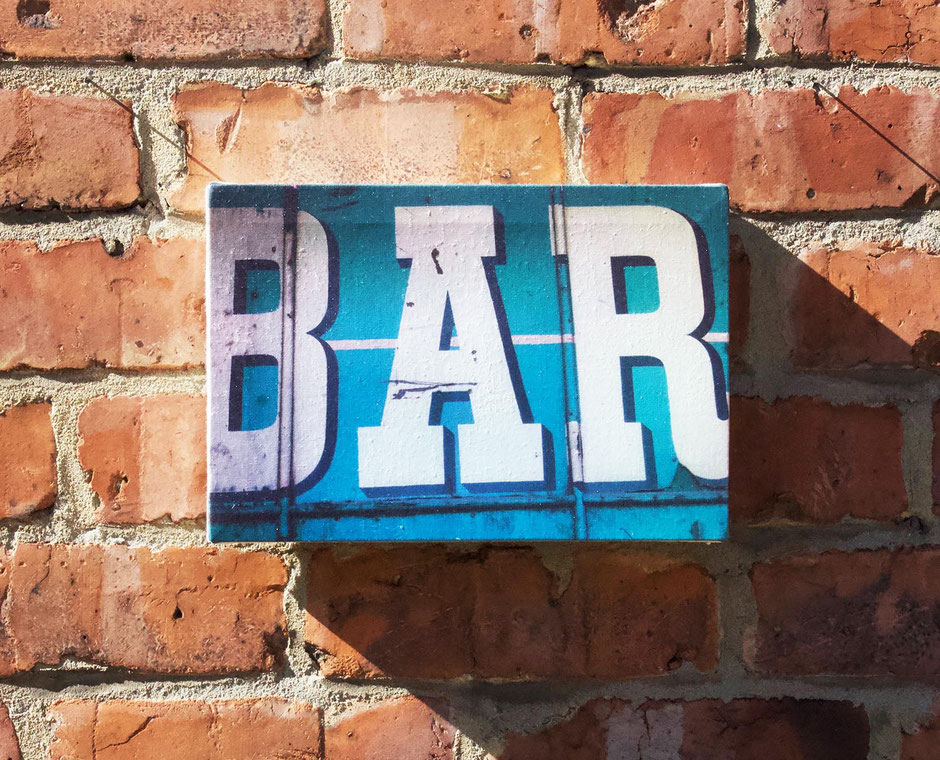bar sign pub signage beer decorative canvas art wall decor wallart man cave gift boyfriend husband