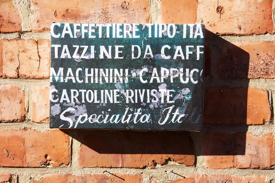 specialita italian sign canvas wall print kitchen bar cafe coffee shop wall decor speciality