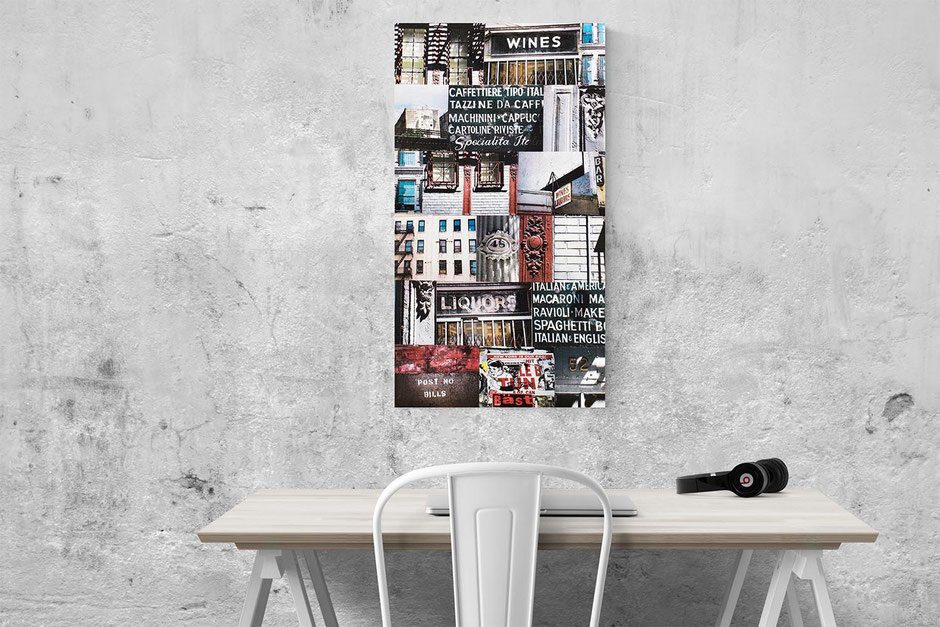 one fine morning new york canvas wall art print