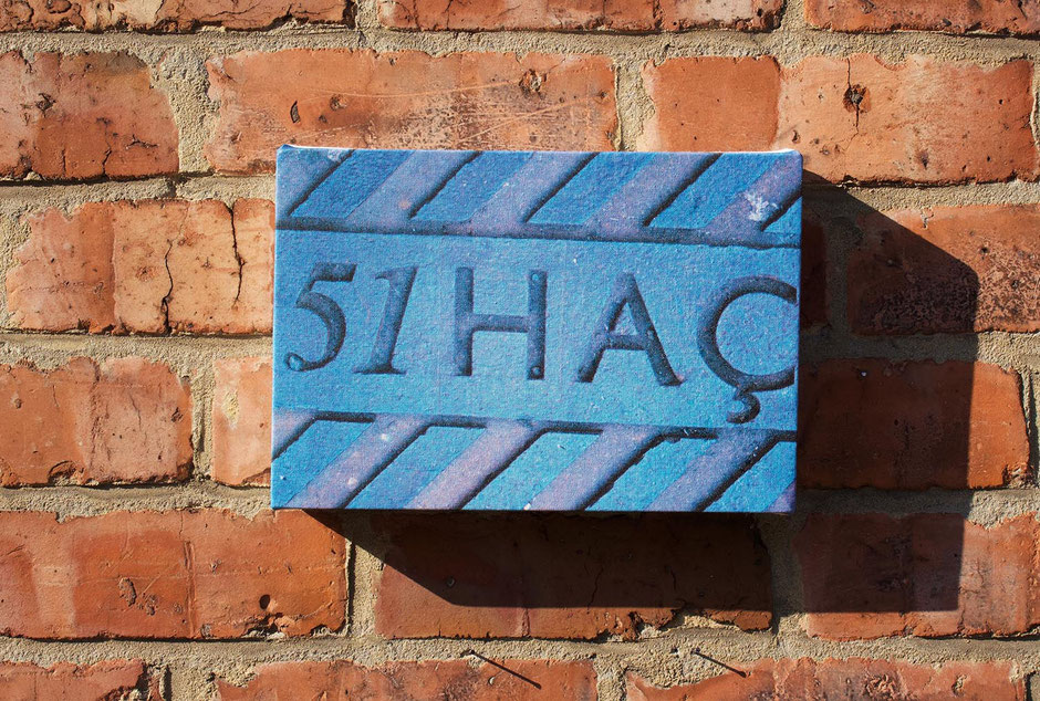 hacienda fac51 nightclub signage whitworth street manchester nostalgic canvas wallart art print decor sign