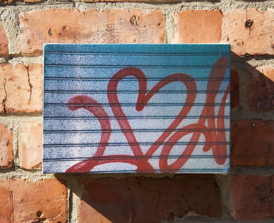 graffiti heart love lover kitchen wall decor canvas print art partner husband wife gift
