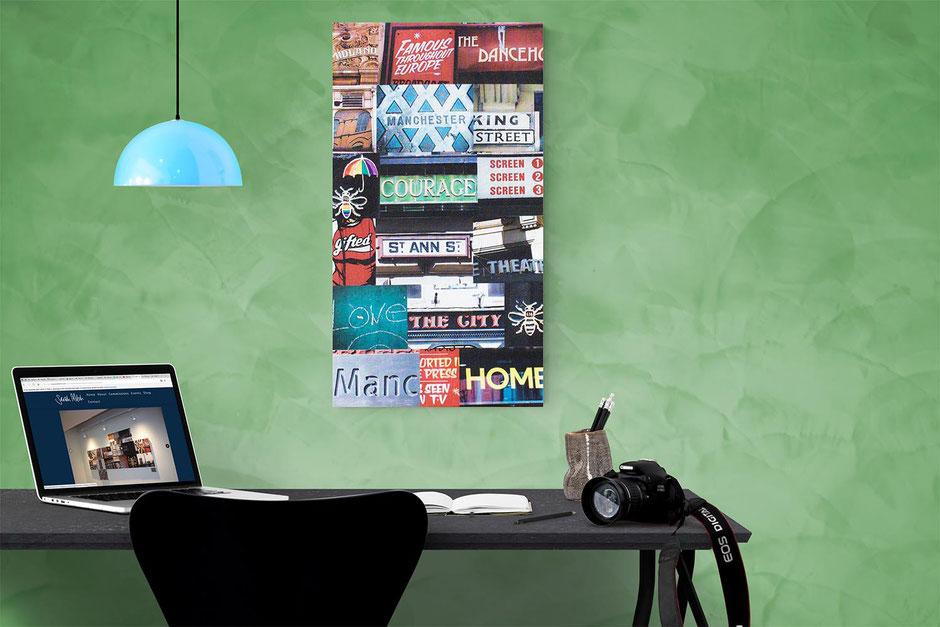 manchester large statement piece interior design wall decor