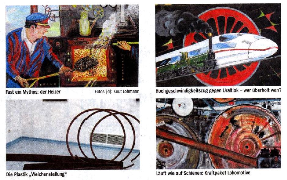 Ausstellung Kunstkreis Siegerland, 2010 Haus Seel, 150 Jahre Eisenbahn im Siegerland